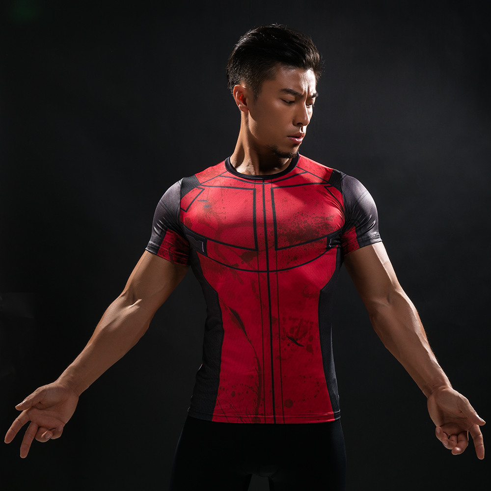 Punisher 3D Printed T-shirts Men Compression Shirts Long Sleeve Cosplay Costume crossfit fitness Clothing Tops Male Black Friday 87
