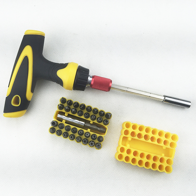 2016 New Woodworker Screwdriver Set Of 35 In 1 Tools Professional