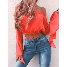 chic women blouse hot female womens top festivals classics  elegance shirt butterfly sleeve ladies cool