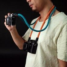 """קלטת כותנה cam בכפתור 1300 1319 מצלמה אוניברסלי נשיאת רצועת כתף צוואר 75 95 ס""""מ אורך החגורה כללית 1 ס""""מ קוטר"""