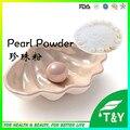 Atacado 100% pure pó de pérola natural para clareamento da pele em estoque 1000 g/lote frete grátis