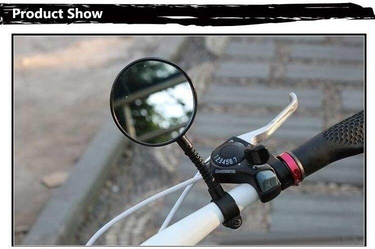 Fiets Stuur Spiegels : West biking draaibare flexibele fiets fietsen stuur end