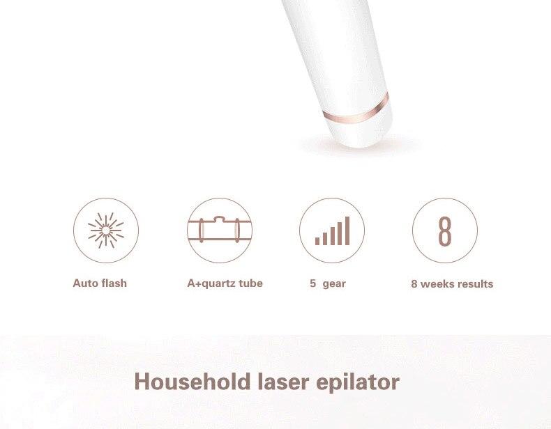 do cabelo do laser do ipl depilador