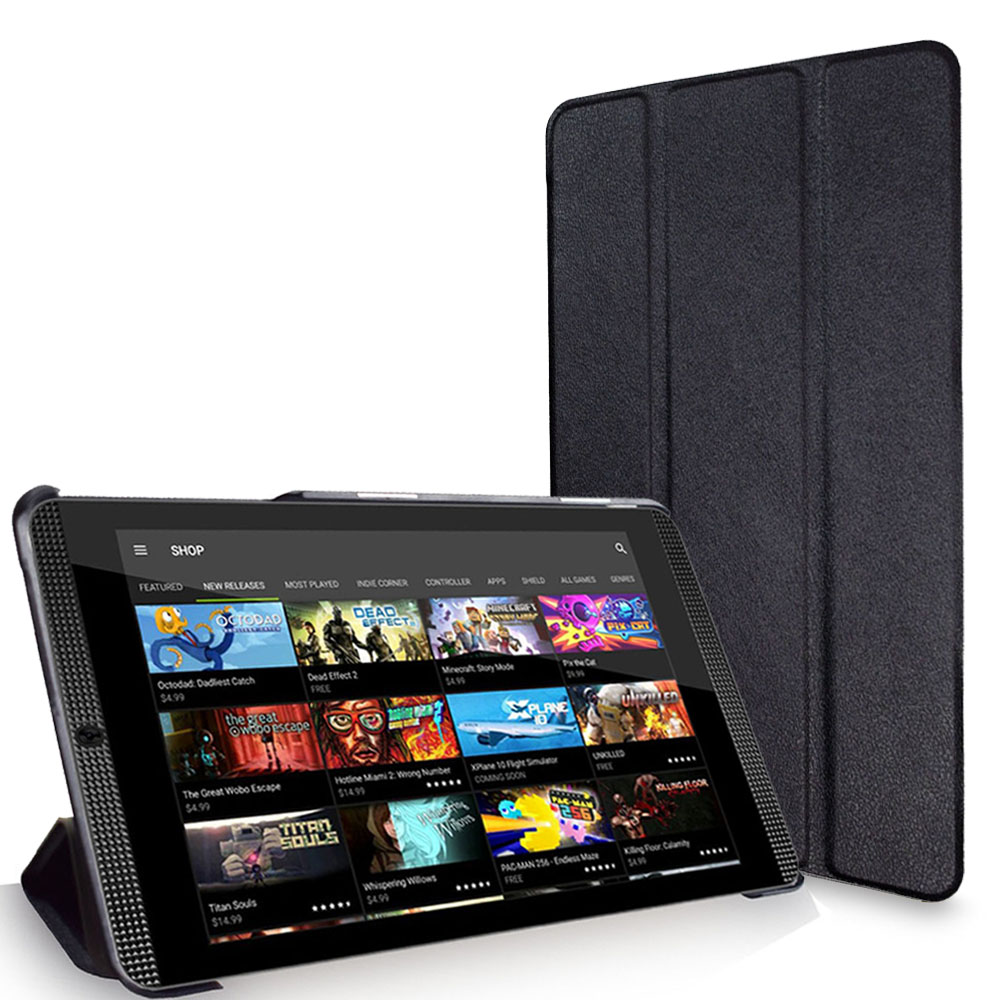 Ultra Slim Smartshell Cover Case with Stand for NVIDIA Shield Tablet K1 8 and NVIDIA Shield Tablet 2 8.0-inch magnetic closured image