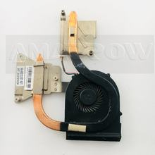 Охлаждающий вентилятор для ноутбука LENOVO, кулер для процессора G480 G485 G580 G585, вентилятор для радиатора процессора + латунный радиатор