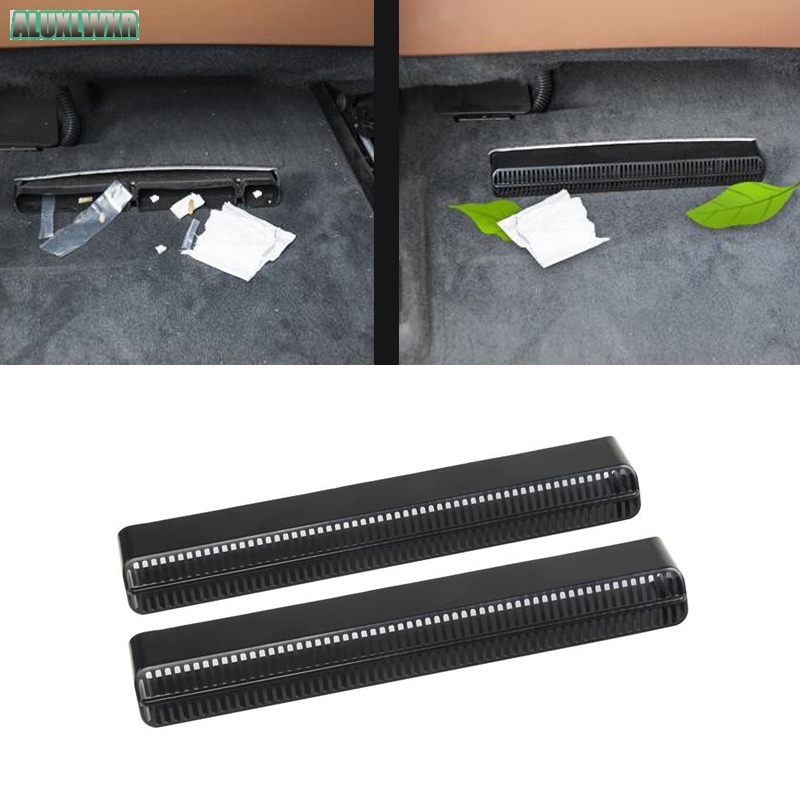 Seat AC Heat Floor Air Conditioner Duct Vent Outlet Grille Cover Trim for Audi A6 s6 RS6 A7 s7 RS7 C8 2019 2020 Car Accessories