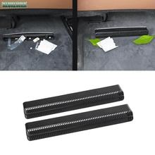 Seat AC ciepła podłoga klimatyzator kanał wylot wentylacyjny osłona na maskownicę tapicerka dla Audi A6 s6 RS6 A7 s7 RS7 C8 2019 2020 akcesoria samochodowe tanie tanio ALUXLWXR Wewnętrzny CN (pochodzenie) Inne Klej naklejki 4inch 3inch 1inch Rodzaj oleju porady 2inch aude12