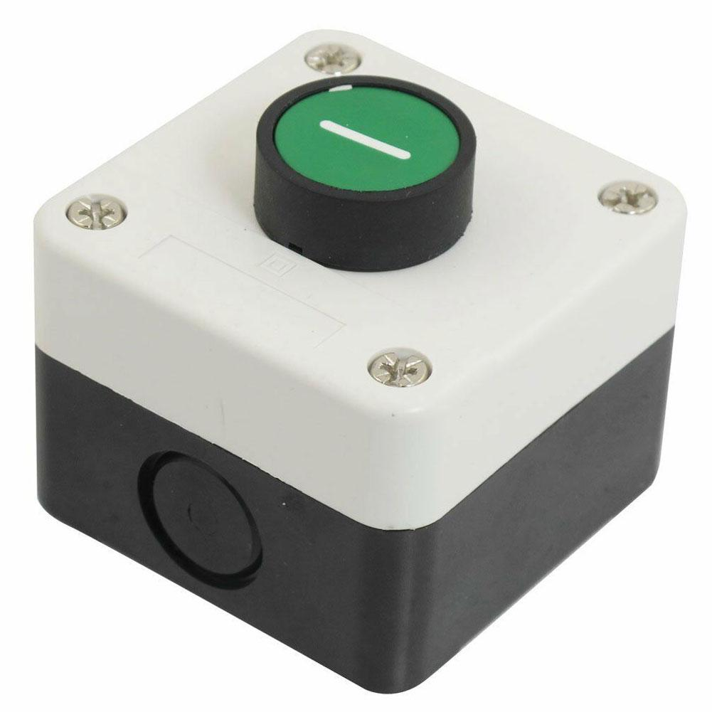 Waterproof Emergency Stop Switch Control Box Station Mushroom Head Push Button Switch Turn To Release Push Button Switch Station