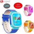 Q80 kid gps monitor smart watch detective anti perdido lembrete seguro crianças relógio de pulso chamada sos localização rastreador bebê smart watch