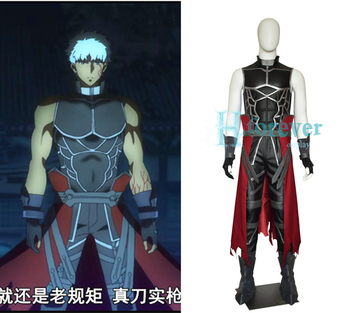 New Anime Fate Grand Order Archer Emiya Shirou Alter Cosplay Costume Outfit Set Halloween Costumes for Women/Men Custom Any Size 1