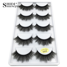 Thick 100% 3d mink lashes false eyelashes natural handmade eye lashes mink eyelashes for makeups mink cilios lashes maquiagem