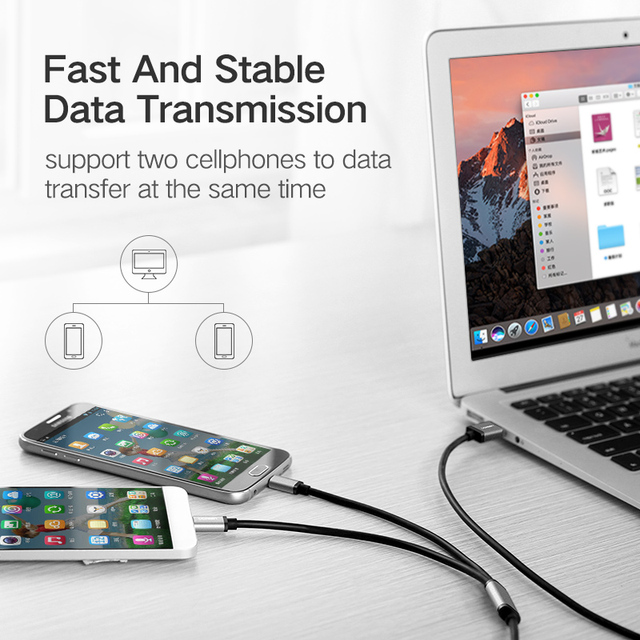 Fast Charging All in One USB Universal Cable for Phones