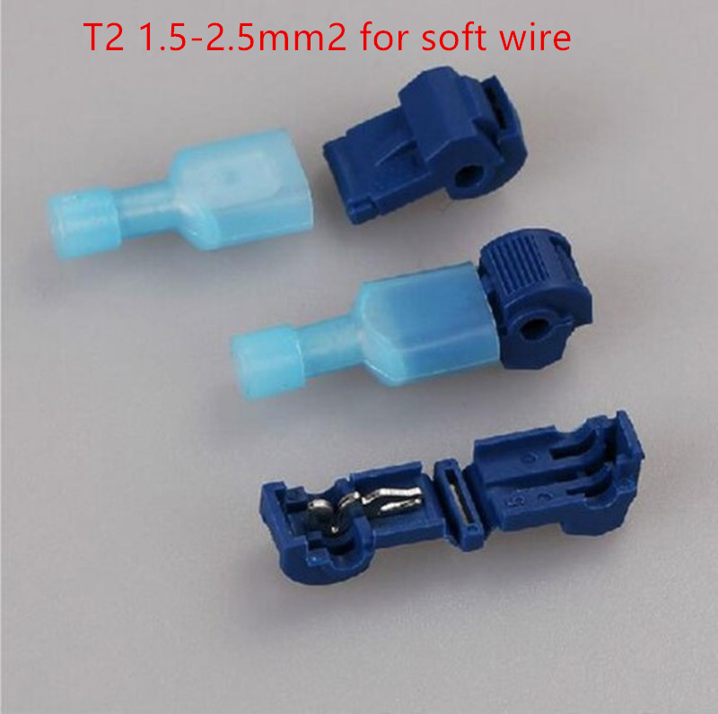 0.5-1.5 0.75-2.5 4-6mm2 sans dénuder Scotch Lock rapide épissure fil connecteur câblage connexion joint pince 20 pièces/1 LOT