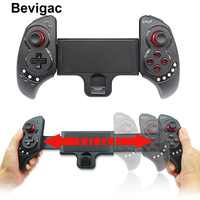 Bevigac Wireless Bluetooth Tablet Mobile Phone Game Controller Gamepad Joystick Stretch Bracket for iOS Android PC Accesories