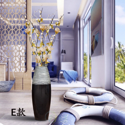 DHL European Ceramics Of Large Vase Creative Home Furnishing Articles  Contracted Sitting Room Modern Flower Arrangement 01