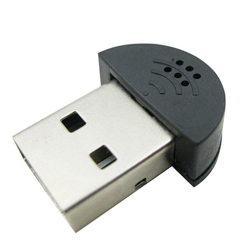 hot sale mini usb microphone for laptop desktop pc skype voice recognition software computer. Black Bedroom Furniture Sets. Home Design Ideas