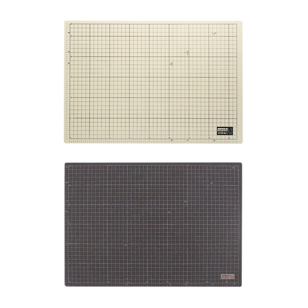 Double side PVC Rectangle A3 Cutting Mat Self Healing Craft Cutting Pad Cushion Plate Tool 45x30cm Sewing Cutting Board top quality pvc rectangle self healing cutting mat tool non slip craft quilting printed professional double sided cutting mat