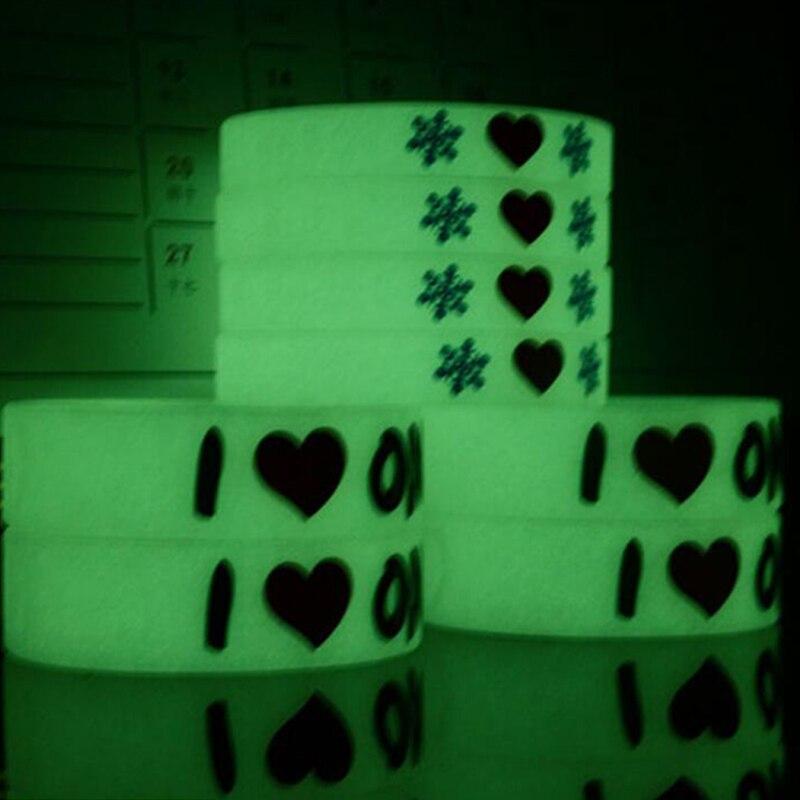 LED party świecący guma opaska przeciw poceniu się Led zabawki bransoletki do koszykówki sportowe opaski na rękę bransoletki silikonowe Halloween wedding party w Zabawki świecące w ciemności od Zabawki i hobby na  Grupa 2