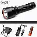YAGE CREE XP-E Tactical 300M-500M cree led Torch cree LED Flashlight Torch light for 1xRechargeable 18650 battery Lanterna