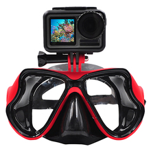Underwater Camera Diving Mask Swimming Goggles For Dji Osmo Action/Gopro//Sjcam Sports/Action