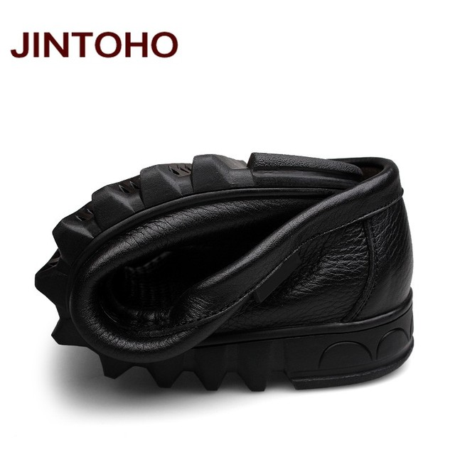 Jintoho ανδρικό παπούτσι ιταλικό δερμάτινο μοκασίνι 37 έως 48