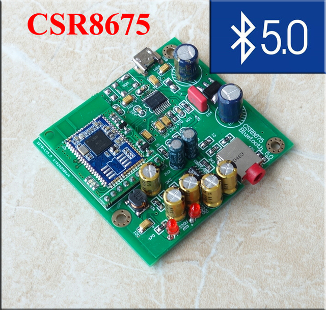 US $34 4 |CSR8675 Bluetooth 5 0 APTX Decoder Board Independent Decoder DAC  Bluetooth Receiver-in Operational Amplifier Chips from Consumer Electronics