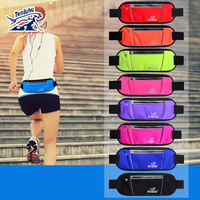 TANLUHU 363 Men Women Ultralight Close Fitting Lycra Phone Holder Case Running Jogging Cycling Yoga Fitness Sports Waist Bag