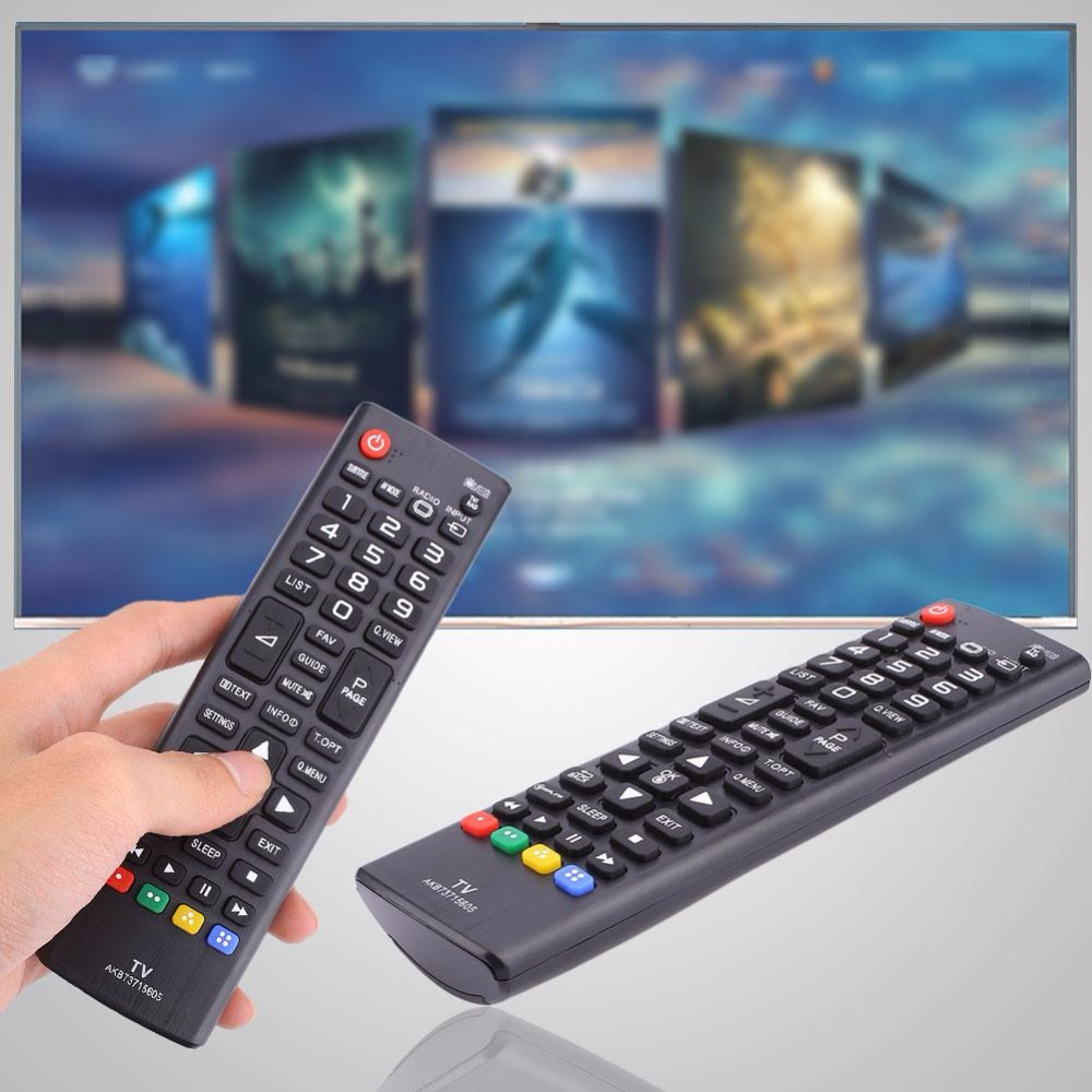 Cewaal remote control For lg tv AKB73715605 Button Replacement Parts For LG LED TV Black Remotes Controller Smart Home Boy Gift