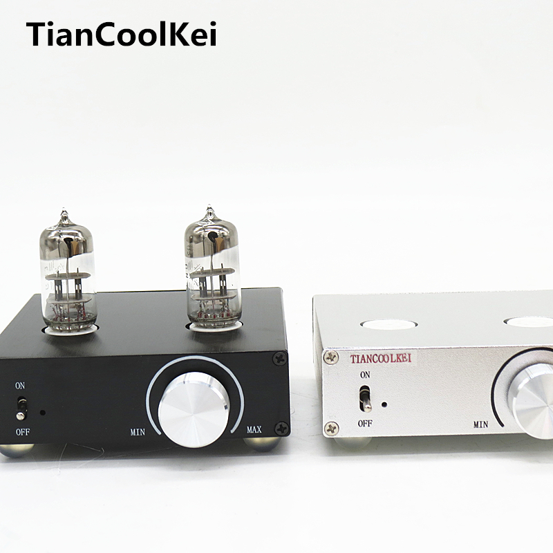 2016 New MATISSE HIFI TUBE-T5 DC12V 2A tube preamp Amplifier Buffer 6N3 HIFI Audio TUBE preamplifier цена 2017