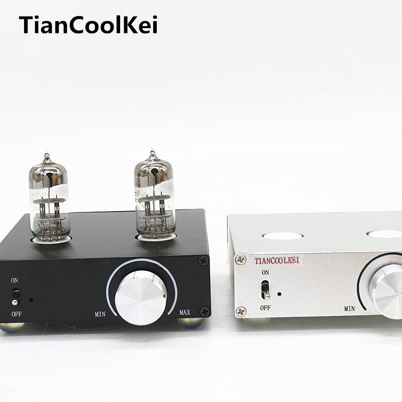 2016 New MATISSE HIFI TUBE-T5 DC12V 2A tube preamp Amplifier Buffer 6N3 HIFI Audio TUBE preamplifier