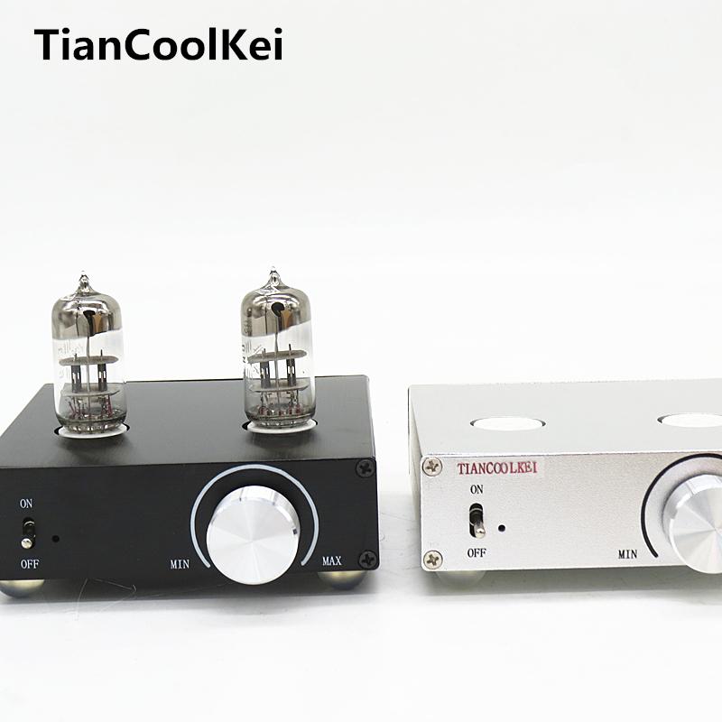Prix pour 2016 Nouveau MATISSE HIFI TUBE-T5 DC12V 2A tube préampli Amplificateur Tampon 6N3 HIFI Audio TUBE préamplificateur