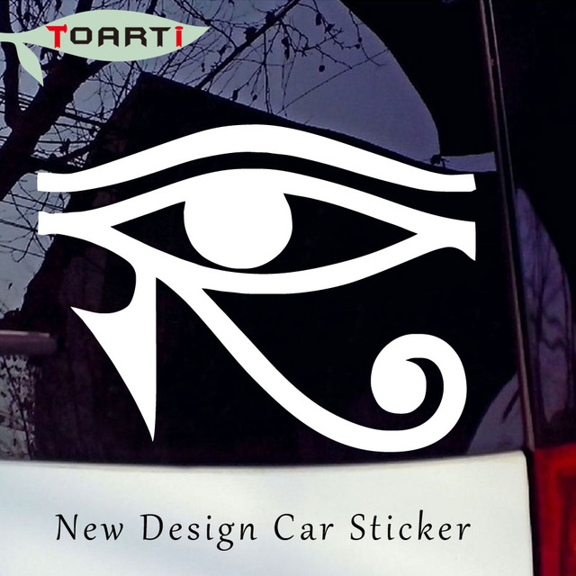 Aliexpress Buy Eye Of Ra Horus Egyptian God Vinyl Sticker