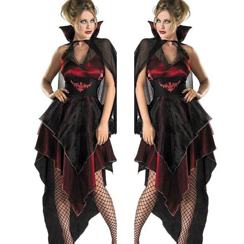 Adult Zombie Bride Costume Ladies Wedding Halloween Fancy Dress Outfit 6-20