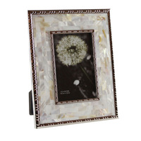 Hand made Crafts Fashionable Seashell Photo Frame, Shell Picture Prints YSPF 008