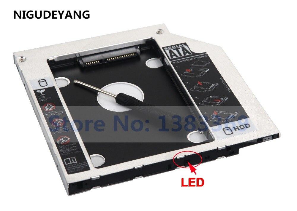 Жесткий диск NIGUDEYANG 2nd, SSD HDD Caddy адаптер для Lenovo IdeaPad 100 100-15IBD 320-15IK 330-15IK + Lenovo B5400 GUE0N DU8A5SH