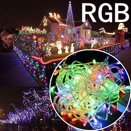 10M 100 Led String Garland Christmas Tree Fairy Light Chain Waterproof Home Garden Party Outdoor Holiday Decoration