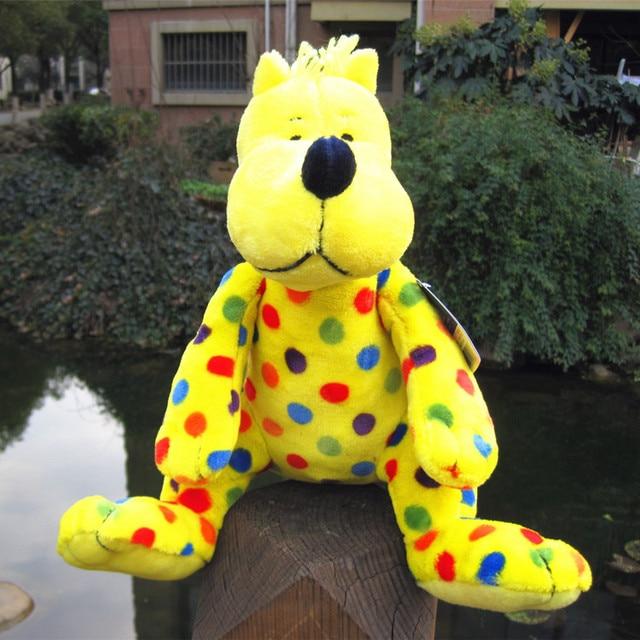 Put Me In The Zoo Golden Jaguar Leopard Cute Soft Stuffed Animal