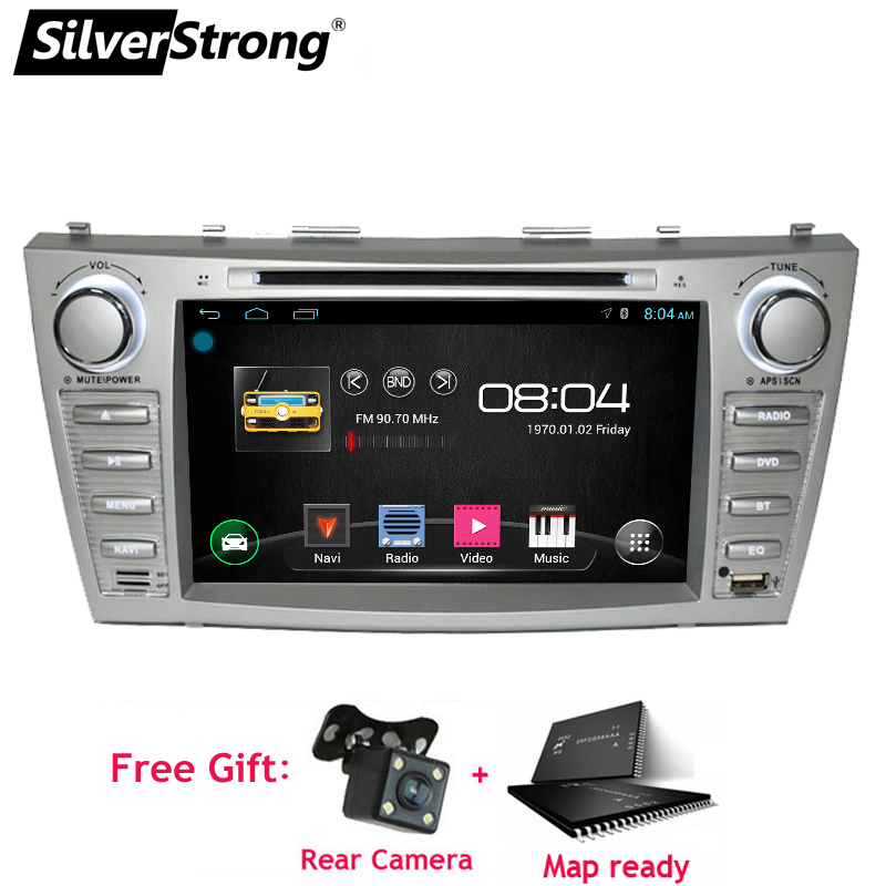 SilverStrong 2din Android9 0 Car DVD for TOYOTA CAMRY Aurion CAR DVD CAMRY v40 GPS CAR