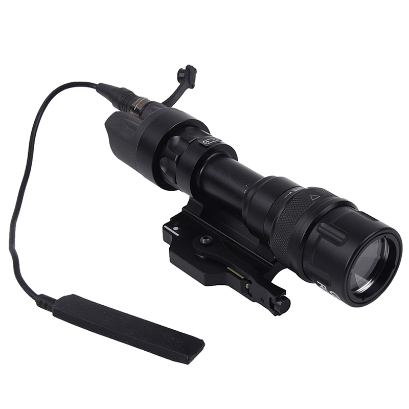 Element airsoft Hunting Military LED Weapon Light Flashlight Pocket for Rifle m952v Gun Tactical (Black) 180 Lumens EX 192