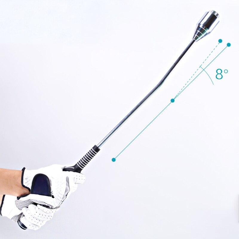 גולף Swing עזרי הדרכה מתכוונן משקל מוט נכון גולף Swing יציבה עיסוק ציוד למתחילים גולף ספורט אבזרים