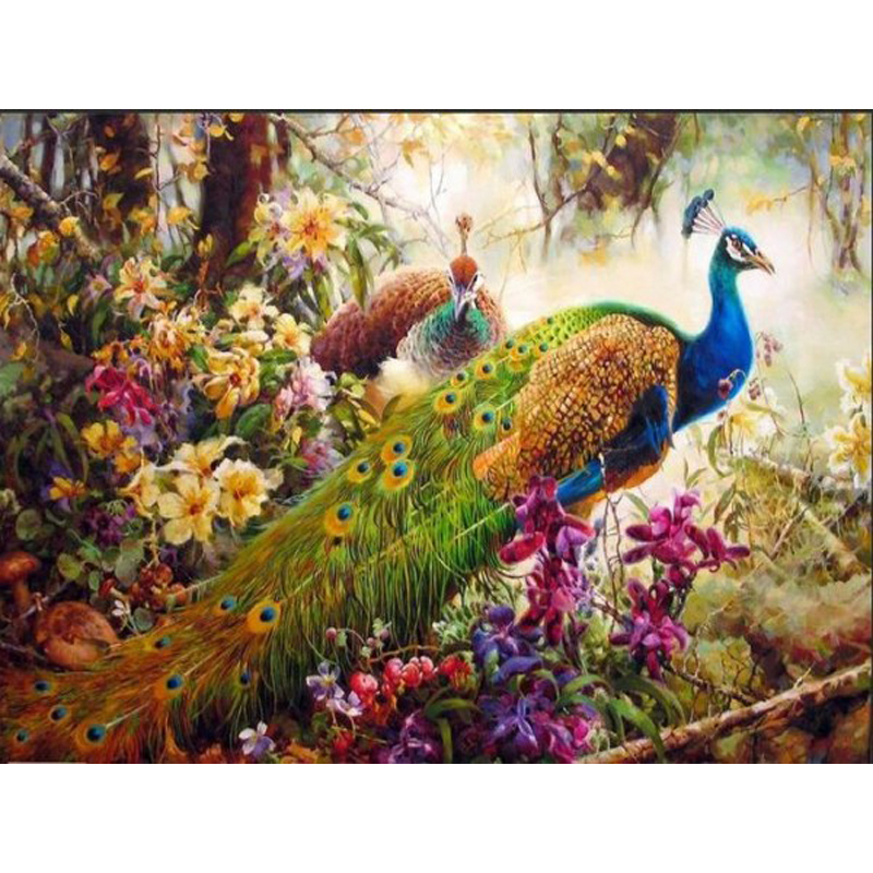 online buy wholesale peacock painting from china peacock