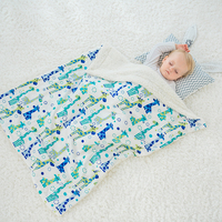 Baby Blankets Winter Warm Newborn Baby Swaddles Thick Infant Bedding Hold Wraps 100x130cm