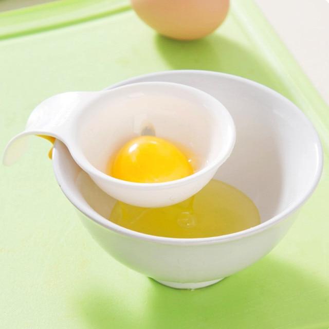 Egg Yolk Separator with silicone holder kitchen utensils