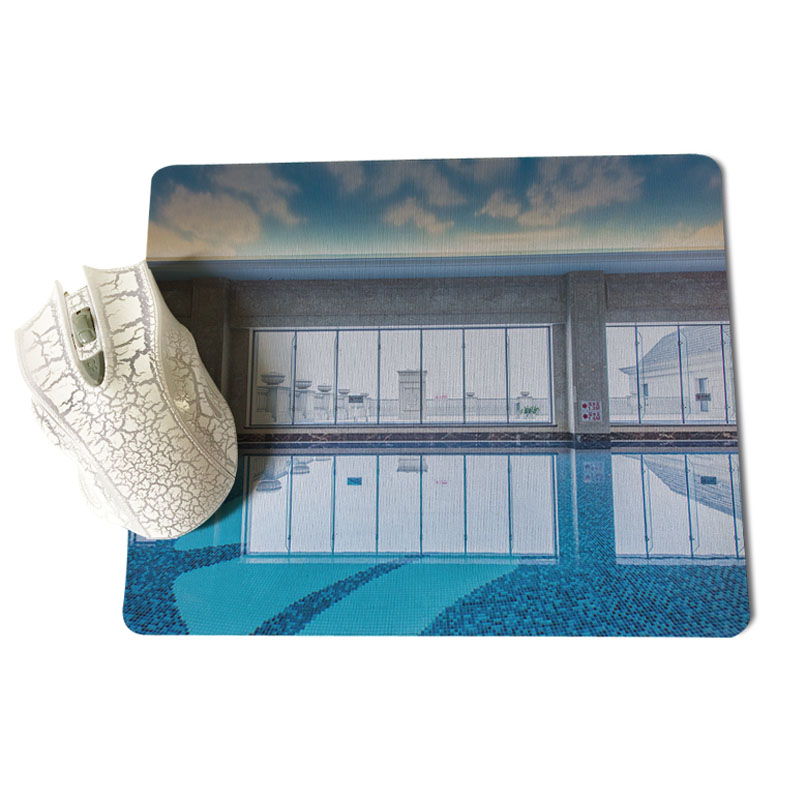 MaiYaCa My Favorite Aerial swimming pool Durable Rubber Mouse Mat Pad Size for 18x22cm 25x29cm Rubber Mousemats