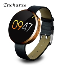 ENCHANTE DM360 Bluetooth Smart Uhr Android Tragbare Geräte SmartWatch Wasserdicht Herzfrequenzmesser Für IOS und Andriod