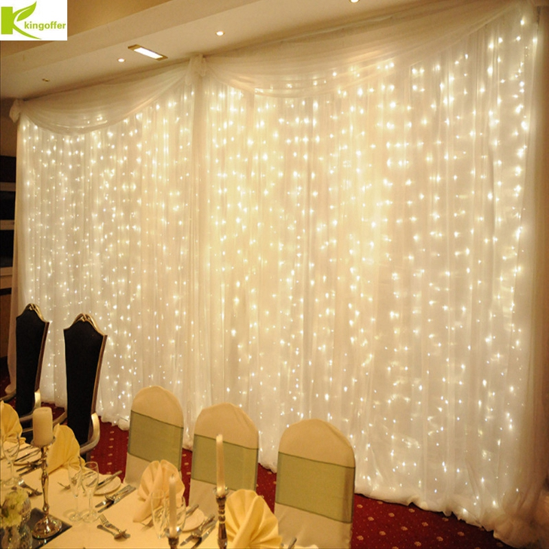 4.5Mx3M 300leds icicle led curtain string fairy lights 300 bulb Xmas Christmas Wedding home garden party garland decoration крючок 4 fbs universal хром uni 002