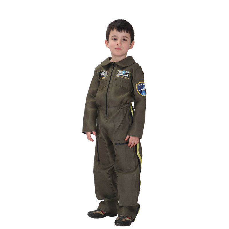 Free Shipping Kids Boys Pilot Jumpsuit Costume Christmas Carnival Halloween Masquerade Fancy Dress Children Cosplay Clothes-in Boys Costumes from Novelty ...  sc 1 st  AliExpress.com & Free Shipping Kids Boys Pilot Jumpsuit Costume Christmas Carnival ...