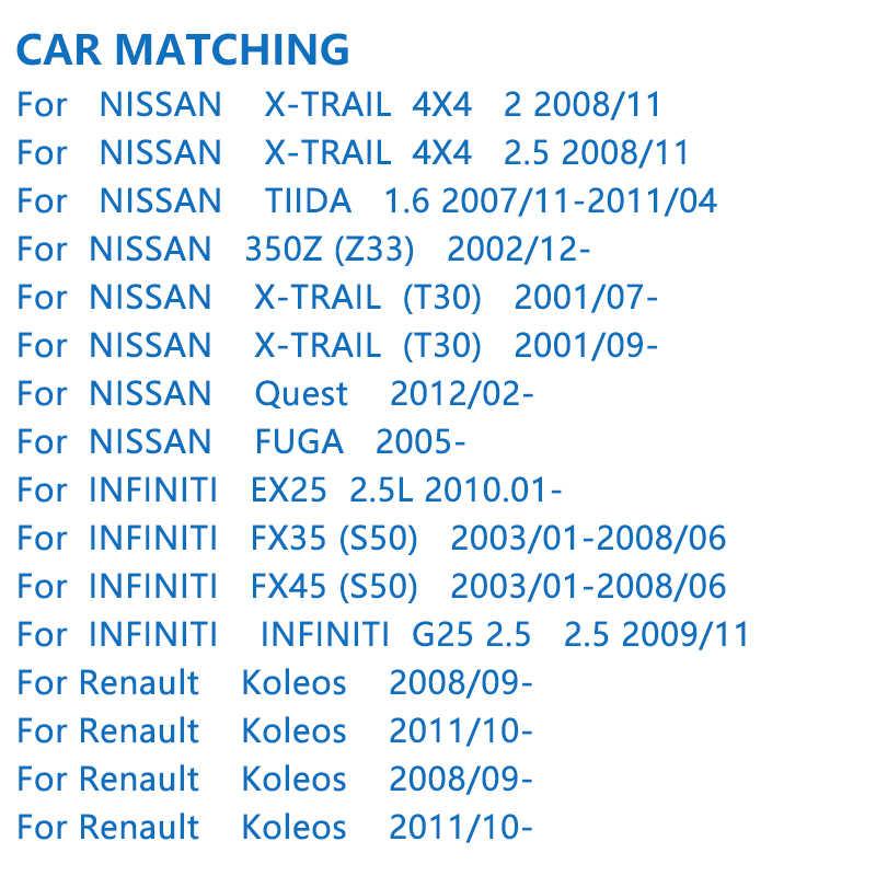 Bosch auto Bremsbeläge 0986ab1186 für Nissan Teana MURANO Qashqai SYLPHY Renault trail Koleos