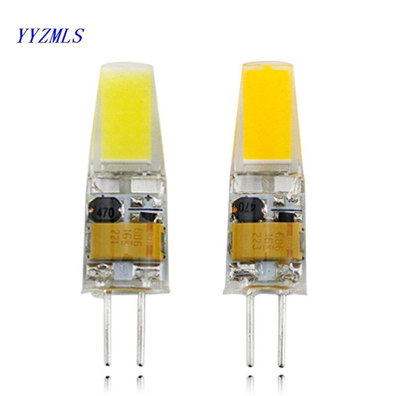 LED G4 Lamp Bulb DC 12V 360 Beam Angle 1505 COB SMD LED Lighting Lights replace Halogen Spotlight Chandelier
