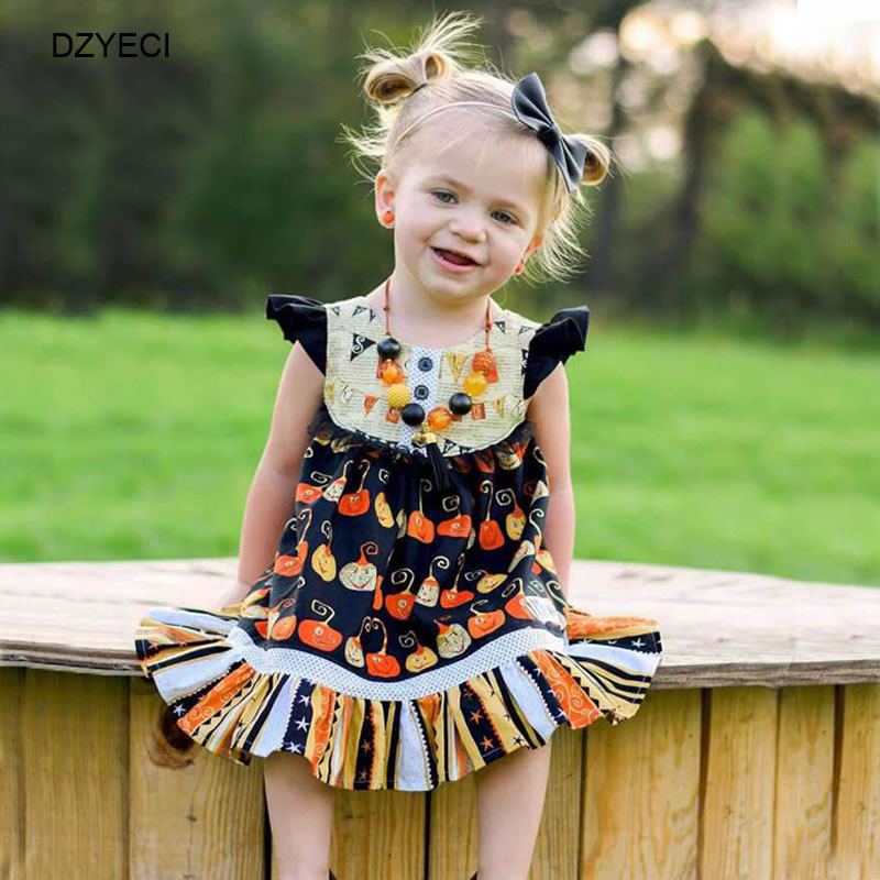 Baby Girls Dress Infant Toddler Army Green Ruffled Bell Sleeves Frock Party Princess Dress